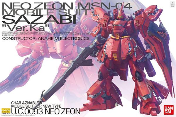 Neo Zeon MSN-04 Sazabi Ver.Ka