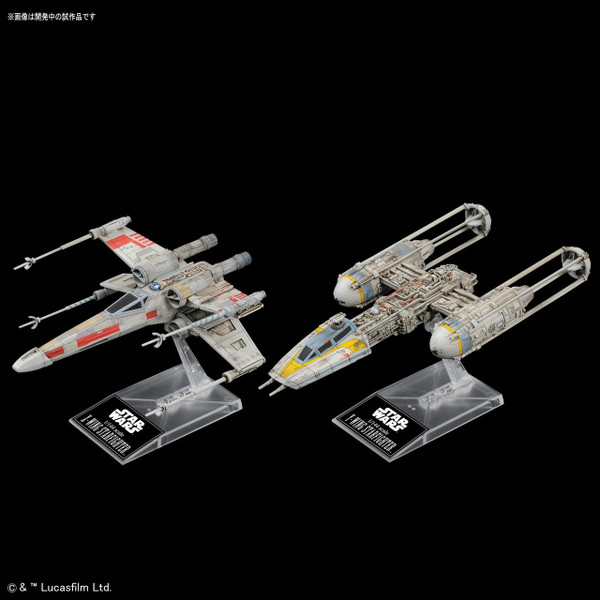 X-Wing Starfighter & Y-Wing Starfighter