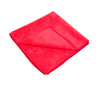 Red All Purpose 380 GSM Microfiber Towel | Overlock Edge 16x16