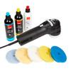 The Clean Garage Rupes LHR75E Mini Polisher Kit | DA Polish & Pads Bigfoot Combo 1