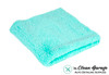 The Clean Garage Plush Edgeless 350 GSM Microfiber Detailing Towel Mint Green | Korean