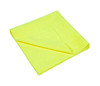 Clean Garage Yellow All Purpose & Polishing 380 GSM Microfiber Towel | Edgeless 16x16