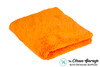 The Clean Garage Ultra Plush Edgeless 500 GSM Microfiber Detailing Towel Orange | Korean