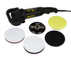 "Meguiars MT300 DA Polisher Kit  | Dual Action 5"" BP and Pads"