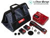 The Clean Garage Flex PXE 80 Cordless Mini Nano Polisher | 12.0 Set Kit 2 Batteries