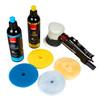 "Clean Garage RUPES LHR75 Pneumatic Polisher Kit   Bigfoot Mini Air DA 3"" Buffer"