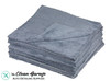 The Clean Garage Plush Edgeless 350 GSM Microfiber Detailing Towel Grey | 20 Pack