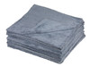 Plush Edgeless 350 GSM Microfiber Detailing Towel Grey | 20 Pack