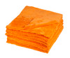 Ultra Plush Edgeless 500 GSM Microfiber Detailing Towel Orange | 20 Pack