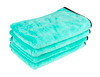 "Ultra Plush Twist Loop Drying Towel Mint Green | 35"" x 29"" 