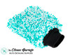 "The Clean Garage Ultra Plush Korean Microfiber Wash Mitt Mint Green | 9"" x 7"""