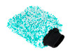 "Ultra Plush Korean Microfiber Wash Mitt Mint Green | 9"" x 7"""