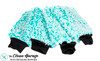 The Clean Garage Ultra Plush Korean Microfiber Wash Mitt Mint Green | 4 Pack