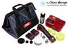 The Clean Garage Flex PXE 80 Cordless Mini Nano Polisher Kit | Polish and Pads