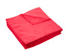 Clean Garage Red All Purpose 380 GSM Microfiber Towel | Overlock Edge | 12 Pack