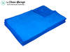 The Clean Garage Bilt Hamber Large Microfiber Buffing Towel Blue | 20 Pack