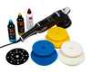 "Clean Garage Rupes LK900E Mille Gear Driven Polisher Starter Kit | 5"" & 6"" DA Pads"