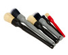 Detail Factory Detailing Brush Set | 6 Brushes Synthetic and Boars Hair