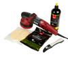 Clean Garage Flex XCE 10-8 125 Gear Drive Random Orbital Polisher | Kit 2 Pads & Polish