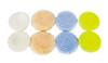 "Clean Garage Rupes Nano Polishing Pad Kit | 8 Pads for 2"" Backing Plate | DA Foam Wool"