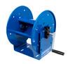 Cox Custom High Pressure Hose Reel Blue | Hand Crank | Up To 100' Hose