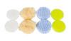 "Clean Garage Rupes Nano Polishing Pad Kit | 8 Pads for 1"" Backing Plate | DA Foam Wool"