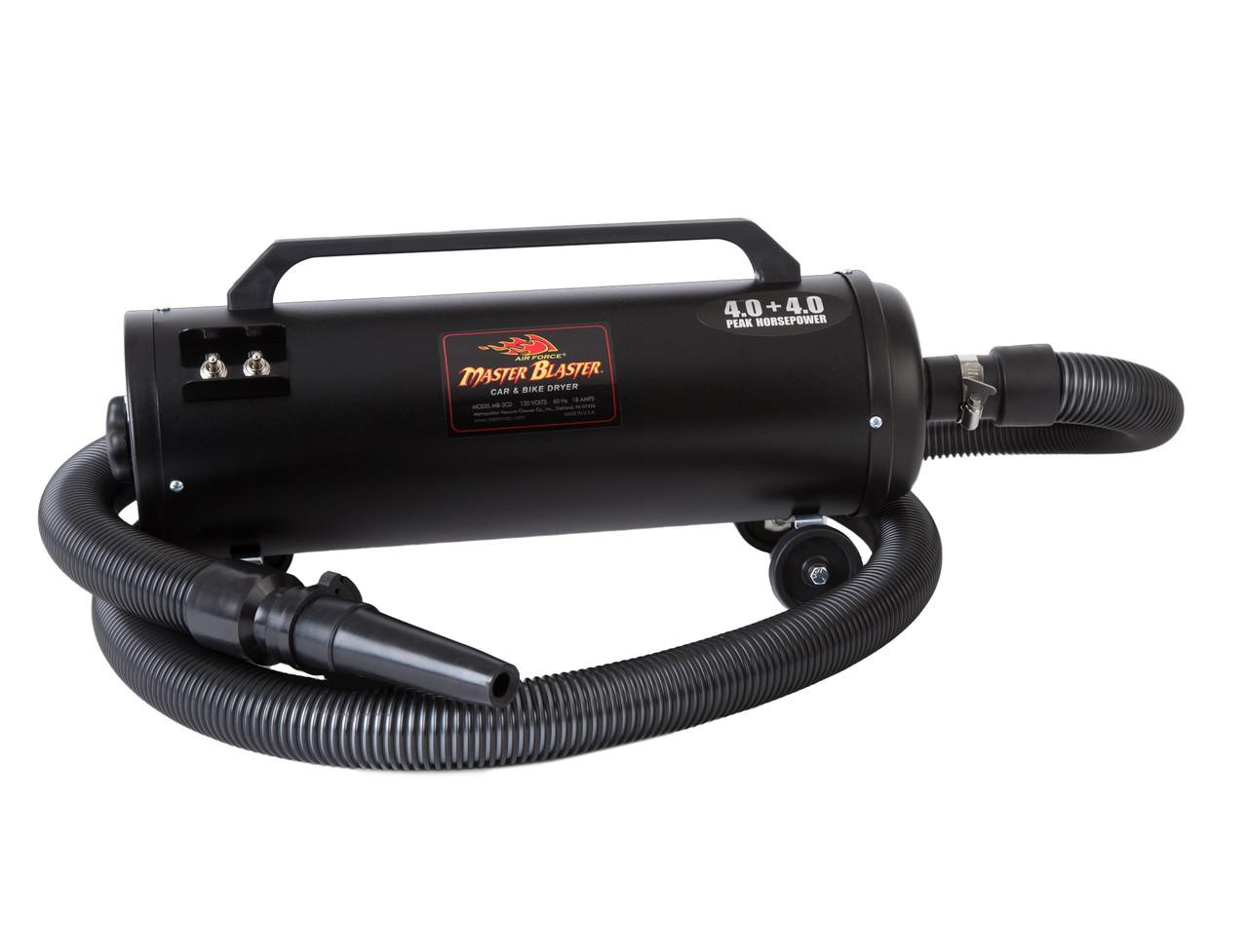 MB-3CDSWB-30 MetroVac Master Blaster Revolution Car Dryer W//30/' Hose