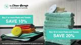 Bulk Microfiber Towel and Polishing Pad Deal