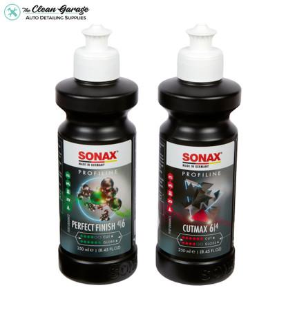 Sonax Perfect Finish Polish & Cutmax Cutting Compound Kit | 250ml