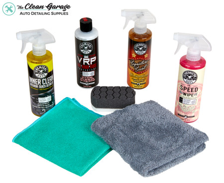 The Clean Garage Chemical Guys Car Show Detailing Combo Kit | 7 Items