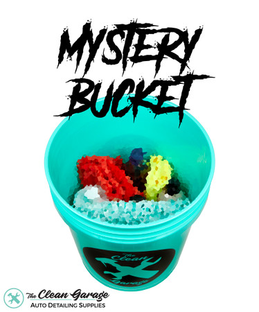 The Clean Garage Mystery Bucket | $100+ Of Detailing Products