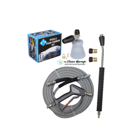 The Clean garage MTM PF22.2 Foam Cannon Pro Kit 1 | Hose Gun Want Fittings