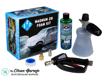 The Clean Garage MTM PF22.2 Foam Cannon Kit Magnum 28 | Snow Foam Combo
