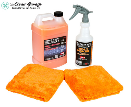 The Clean Garage P&S Bead Maker Kit 1 | 1 Gallon 32oz Spray Bottle & 2 Towels