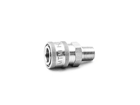 """MTM 1/4"""" Male Quick Connect Coupler 