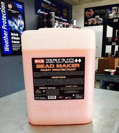 P&S Bead Maker 5 Gallon  | Double Black Spray Sealant