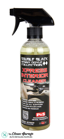 The Clean Garage P&S Xpress Interior Cleaner 16oz   Double Black