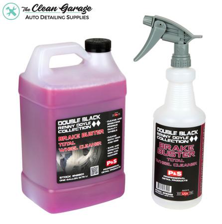 The Clean Garage P&S Brake Buster Kit   1 Gallon & Spray Bottle   Wheel & Tire Cleaner