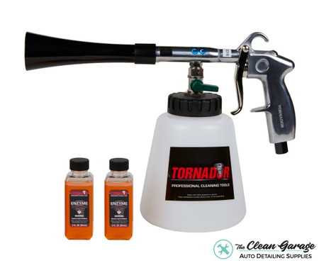 The Clean Garage Tornador Black Tool   Air Powered Interior Cleaning   2 Free Product