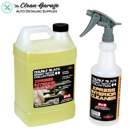 The Clean Garage P&S Xpress Interior Cleaner 1 Gallon Kit | 32oz Bottle Sprayer