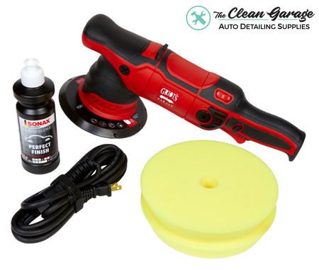 "The Clean Garage Griot's Garage G9 Polisher Kit | 6"" DA Combo"