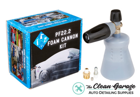 The Clean Garage MTM PF22.2 Foam Cannon | New Standing Bottle