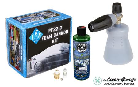 MTM PF22.2 Foam Cannon New Bottle | Honeydew Snow Foam Combo  | The Clean Garage