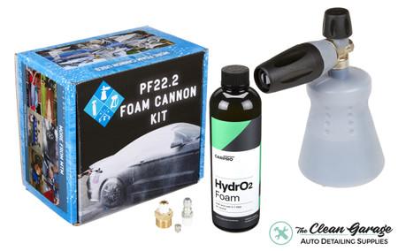 MTM PF22.2 Foam Cannon New Bottle   CarPro HydroFoam Combo   The Clean Garage