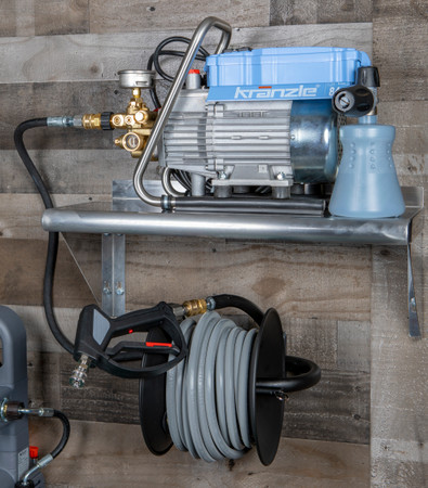 The Clean Garage  Kranzle K1622 Pressure Washer | Complete Wall Mount Package
