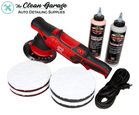 "The Clean Garage Griot's Garage G9 Polisher Kit | 6"" Meguiar's DA Combo"