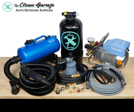 The Clean Garage Ultimate Pressure Washer Package | Kranzle 1622 TS Kit