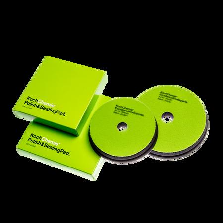 "The Clean Garage 5"" Koch Chemie Polish & Sealing Pad | Green Foam Wax & Sealant"