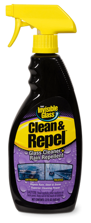 The Clean Garage Stoner Invisible Glass Clean and Repel 22oz Spray | Cleaner and Rain Repellent