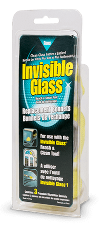 The Clean Garage Stoner Invisible Glass Reach & Clean Tool Replacement Bonnets | Set of 3